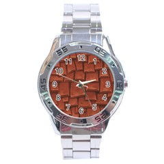 Chocolate Stainless Steel Analogue Watch