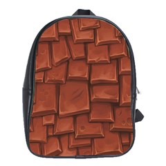 Chocolate School Bags (XL)