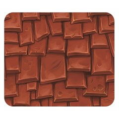 Chocolate Double Sided Flano Blanket (Small)