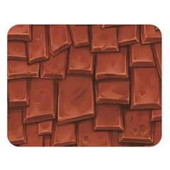 Chocolate Double Sided Flano Blanket (Large)