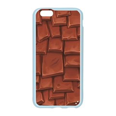 Chocolate Apple Seamless iPhone 6/6S Case (Color)