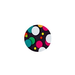 Color Balls 1  Mini Buttons