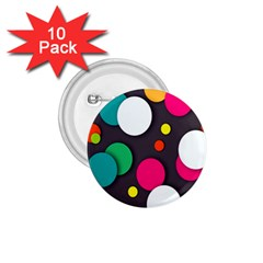 Color Balls 1.75  Buttons (10 pack)