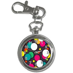Color Balls Key Chain Watches