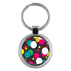 Color Balls Key Chains (Round)