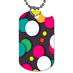 Color Balls Dog Tag (Two Sides)