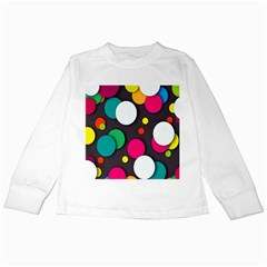 Color Balls Kids Long Sleeve T-Shirts