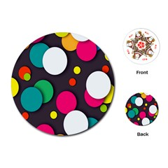 Color Balls Playing Cards (Round)