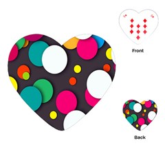 Color Balls Playing Cards (Heart)
