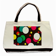 Color Balls Basic Tote Bag