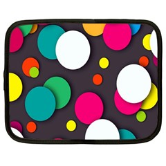 Color Balls Netbook Case (Large)