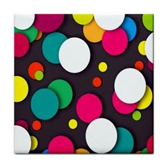 Color Balls Face Towel
