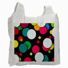 Color Balls Recycle Bag (Two Side)