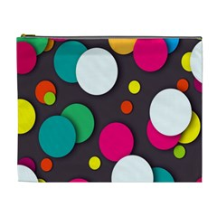Color Balls Cosmetic Bag (XL)