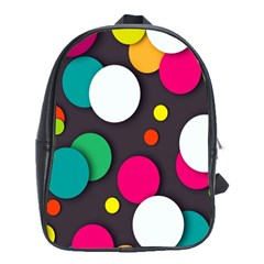 Color Balls School Bags(Large)