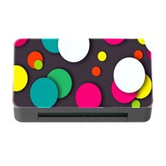 Color Balls Memory Card Reader with CF