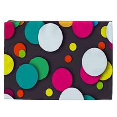 Color Balls Cosmetic Bag (XXL)