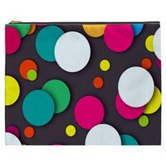 Color Balls Cosmetic Bag (XXXL)
