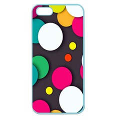 Color Balls Apple Seamless iPhone 5 Case (Color)