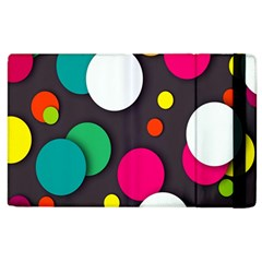 Color Balls Apple iPad 2 Flip Case