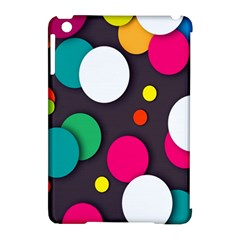Color Balls Apple iPad Mini Hardshell Case (Compatible with Smart Cover)