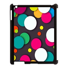 Color Balls Apple iPad 3/4 Case (Black)
