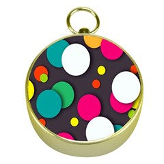 Color Balls Gold Compasses