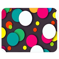 Color Balls Double Sided Flano Blanket (Medium)