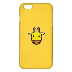 Cute Face Giraffe iPhone 6 Plus/6S Plus TPU Case