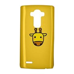Cute Face Giraffe LG G4 Hardshell Case
