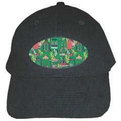 Animal Cage Black Cap