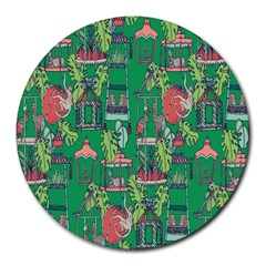 Animal Cage Round Mousepads
