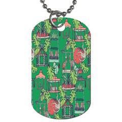 Animal Cage Dog Tag (One Side)