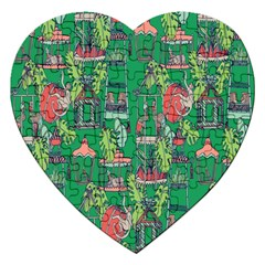 Animal Cage Jigsaw Puzzle (Heart)