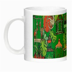 Animal Cage Night Luminous Mugs