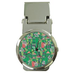 Animal Cage Money Clip Watches