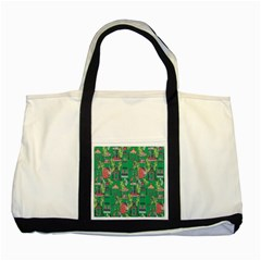 Animal Cage Two Tone Tote Bag