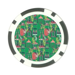 Animal Cage Poker Chip Card Guards