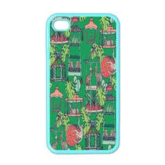 Animal Cage Apple iPhone 4 Case (Color)