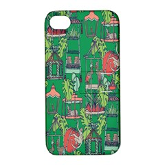 Animal Cage Apple iPhone 4/4S Hardshell Case with Stand