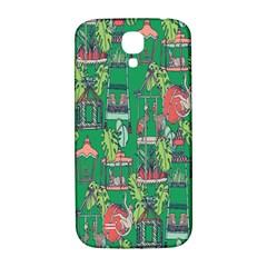 Animal Cage Samsung Galaxy S4 I9500/I9505  Hardshell Back Case