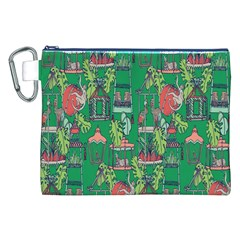 Animal Cage Canvas Cosmetic Bag (XXL)