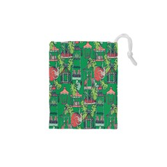 Animal Cage Drawstring Pouches (XS)