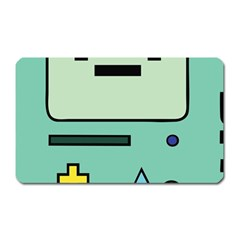 Cute Calculator Magnet (Rectangular)