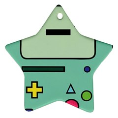Cute Calculator Star Ornament (Two Sides)
