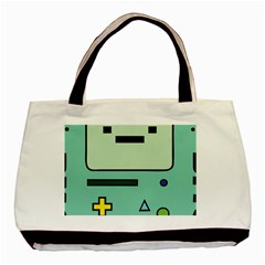 Cute Calculator Basic Tote Bag (Two Sides)