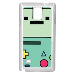 Cute Calculator Samsung Galaxy Note 4 Case (White)