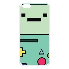 Cute Calculator Apple Seamless iPhone 6 Plus/6S Plus Case (Transparent)