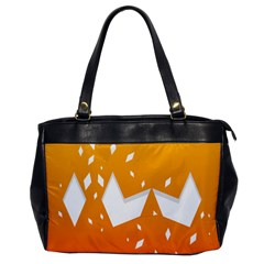 Cute Orange Copy Office Handbags