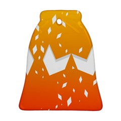 Cute Orange Copy Ornament (Bell)